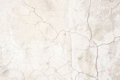 Old grunge cracked concrete wall Stock Images
