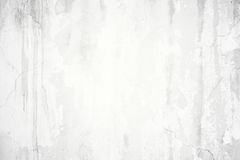 Old grunge cracked white concrete wall Stock Image