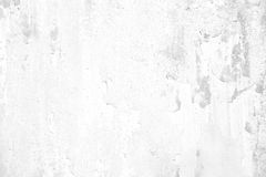 Old grunge cracked white concrete wall Stock Images