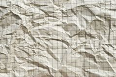 Old grunge creased paper background or texture Royalty Free Stock Images