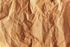Old grunge creased paper texture. Royalty Free Stock Photos