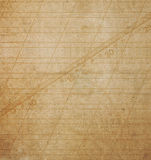 Old grunge crumpled cardboard sheet of paper Royalty Free Stock Photo