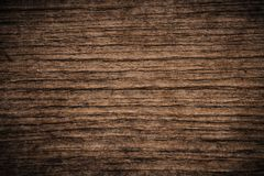 Old grunge dark textured wooden background,The surface of the old brown wood texture,top view brown wood paneling stock image