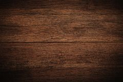 Old grunge dark textured wooden background,The surface of the ol. D brown wood texture Royalty Free Stock Photos