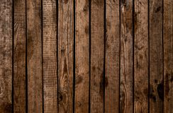 Old Grunge Dark Textured Wooden Background. The Surface Of The O Stock Image