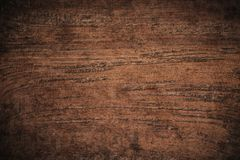 Free Old Grunge Dark Textured Wooden Background,The Surface Of The Old Brown Wood Texture,top View Brown Teak Wood Paneling Stock Photos - 141618393