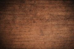 Free Old Grunge Dark Textured Wooden Background,The Surface Of The Old Brown Wood Texture,top View Brown Teak Wood Paneling Stock Images - 141823084