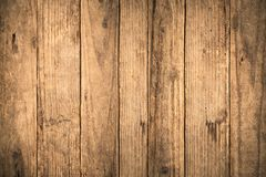 Free Old Grunge Dark Textured Wooden Background,The Surface Of The Old Brown Wood Texture,top View Brown Teak Wood Paneling Royalty Free Stock Image - 157539366