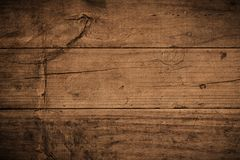 Free Old Grunge Dark Textured Wooden Background,The Surface Of The Old Brown Wood Texture,top View Brown Teak Wood Paneling Stock Images - 158566984