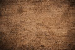 Free Old Grunge Dark Textured Wooden Background, The Surface Of The Old Brown Wood Texture, Top View Brown Wood Paneling Royalty Free Stock Photography - 142394537