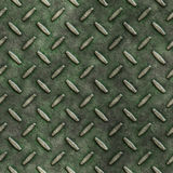 Old grunge diamond metal plate background Stock Images
