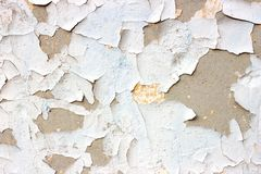Old grunge dirty cracked vintage light grey concrete and cement mold texture wall or floor background with weathered paint royalty free stock image