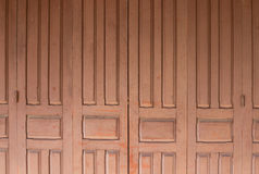 Old grunge door for abstract texture background Royalty Free Stock Photo