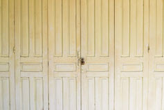 Old grunge door for abstract texture background Stock Photos
