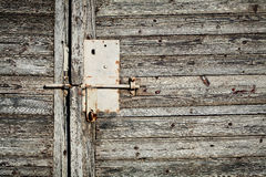 Old grunge door lock Royalty Free Stock Images