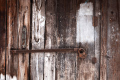 Old grunge door lock Stock Photos