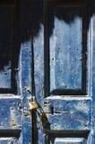 Old grunge door lock Royalty Free Stock Image