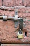 Old grunge door lock Stock Photography