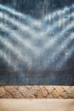 Old grunge empty wall texture Royalty Free Stock Images
