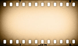 Old grunge film strip. Background Royalty Free Stock Image