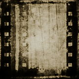 Old grunge film strip background Royalty Free Stock Photo