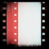 Old grunge film strip Stock Image