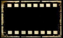 Old grunge film strip frame. Stock Photography
