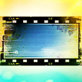 Old grunge film strip frame Royalty Free Stock Photography