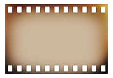 Old grunge film strip stock photography