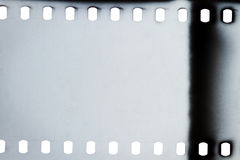 Old grunge filmstrip Stock Images