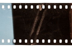 Old grunge filmstrip Royalty Free Stock Images