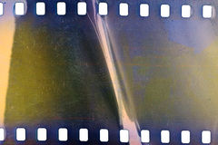 Old grunge filmstrip Stock Photography
