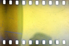 Old grunge filmstrip Royalty Free Stock Photo