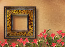 Old grunge frames Victorian style Royalty Free Stock Photos