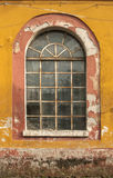Old grunge glass window Royalty Free Stock Photography