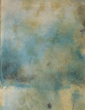 Old grunge hand made watercolor paper Royalty Free Stock Photography