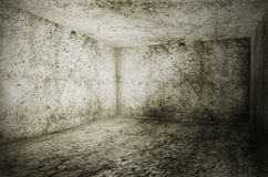 Old grunge interior Royalty Free Stock Photography
