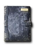 Old grunge leather binder Royalty Free Stock Photography