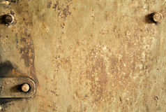 Old grunge metal texture. With rust Stock Photography