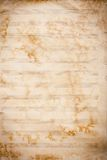 Old grunge music sheet texture. Royalty Free Stock Images