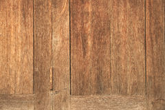 Old grunge natural color wooden door Royalty Free Stock Photos