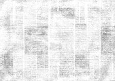 Vintage grunge newspaper collage background. Old grunge newspaper collage horizontal texture. Unreadable vintage news paper pattern. Scratched paper textured stock image