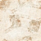Old grunge newspaper collage texture background. Old grunge newspaper collage paper texture seamless pattern background. Blurred vintage newspaper background royalty free stock photo