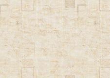 Vintage grunge newspaper texture background. Old grunge newspaper paper texture background. Blurred vintage newspaper background. Scratched paper textured page Stock Image
