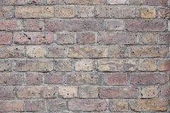 Old grunge orange brick texture background Stock Photography