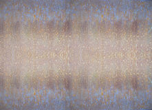 Old, grunge painted metallic texture Stock Photography