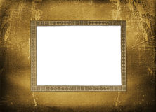 Old grunge paper frame Royalty Free Stock Photo