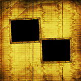 Old grunge paper frames Royalty Free Stock Image