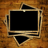 Old grunge paper frames Royalty Free Stock Images