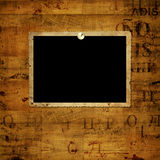 Old grunge paper frames Royalty Free Stock Photos